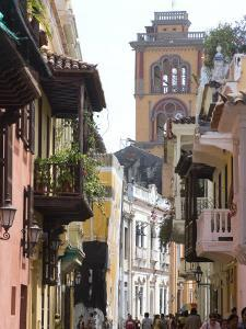 The Walled City, Cartagena, Colombia by Ethel Davies