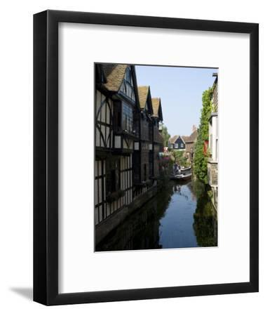 The Weaver's House on the River Stour, Canterbury, Kent, England, United Kingdom, Europe