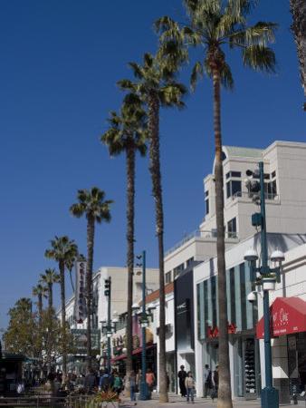 Third Street Promenade, Santa Monica, California, United States of America, North America