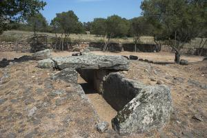 Tomba Di Giganti Moru, a Bronze Age Funerary Monument Dating from 1300 Bc by Ethel Davies