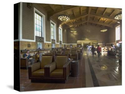 Union Station, Railroad Terminus, Downtown, Los Angeles, California, USA