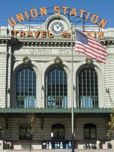 Union Train Station, Denver, Colorado, USA by Ethel Davies