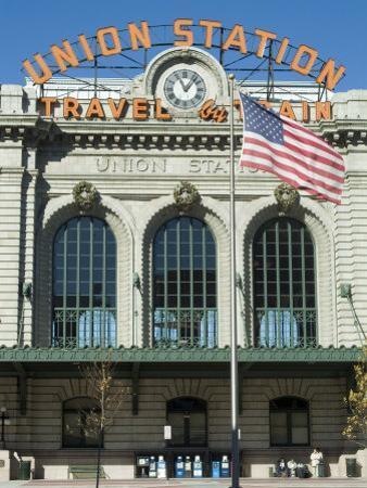 Union Train Station, Denver, Colorado, USA