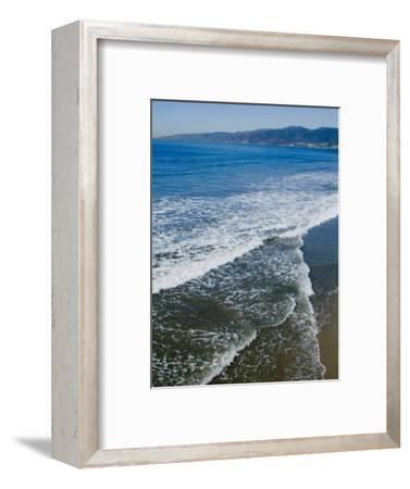 View of Pacific Ocean from Santa Monica Pier, Santa Monica, California, USA