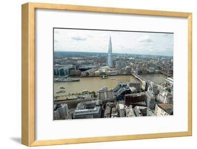 View towards the Shard from the Sky Garden, London, EC3, England, United Kingdom, Europe