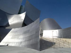 Walt Disney Concert Hall, Part of Los Angeles Music Center, Frank Gehry Architect, Los Angeles by Ethel Davies