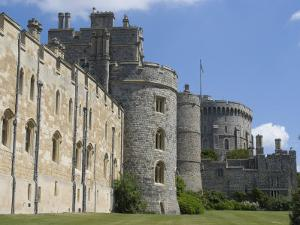 Windsor Castle, Windsor, Berkshire, England, United Kingdom, Europe by Ethel Davies