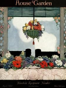 House & Garden Cover - August 1920 by Ethel Franklin Betts Baines