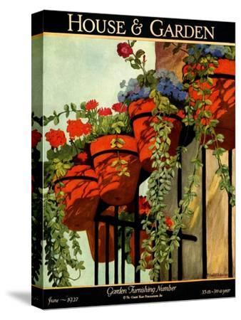 House & Garden Cover - June 1927