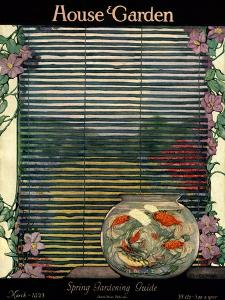House & Garden Cover - March 1923 by Ethel Franklin Betts Baines