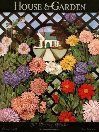 House & Garden Cover - October 1923