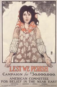 Lest We Perish, Campaign For $30,000,000 by Ethel Franklin Betts