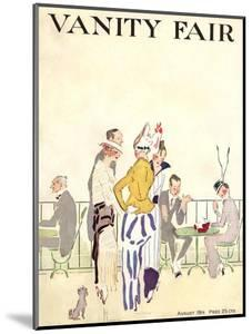 Vanity Fair Cover - August 1914 by Ethel M. Plummer
