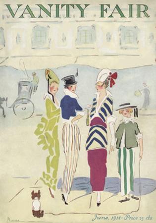 Vanity Fair Cover - June 1914