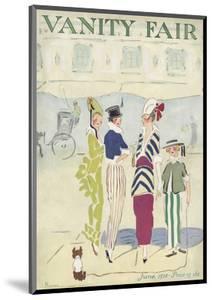 Vanity Fair Cover - June 1914 by Ethel M. Plummer