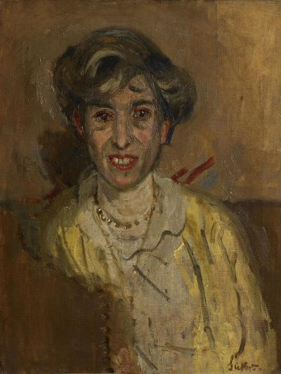 Ethel Sands-Walter Richard Sickert-Giclee Print