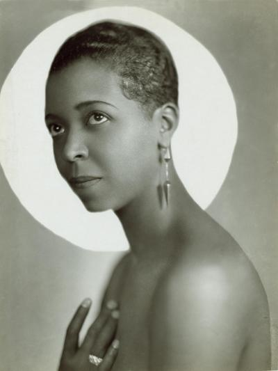 Ethel Waters in a 1935 Publicity Photo for Lew Leslie's 'Rhapsody in Black--Photo