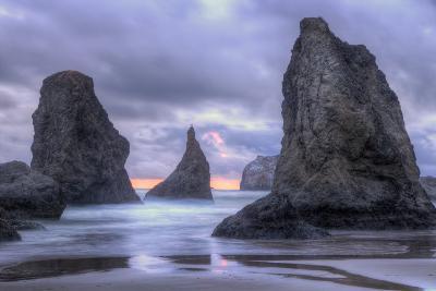 Ethereal Bandon Seascape, Oregon Coast-Vincent James-Photographic Print