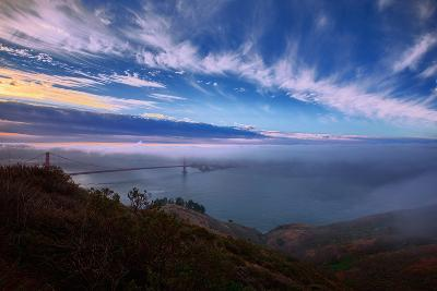 Ethereal Entrance to the Bay, Golden Gate, San Francisco California-Vincent James-Photographic Print