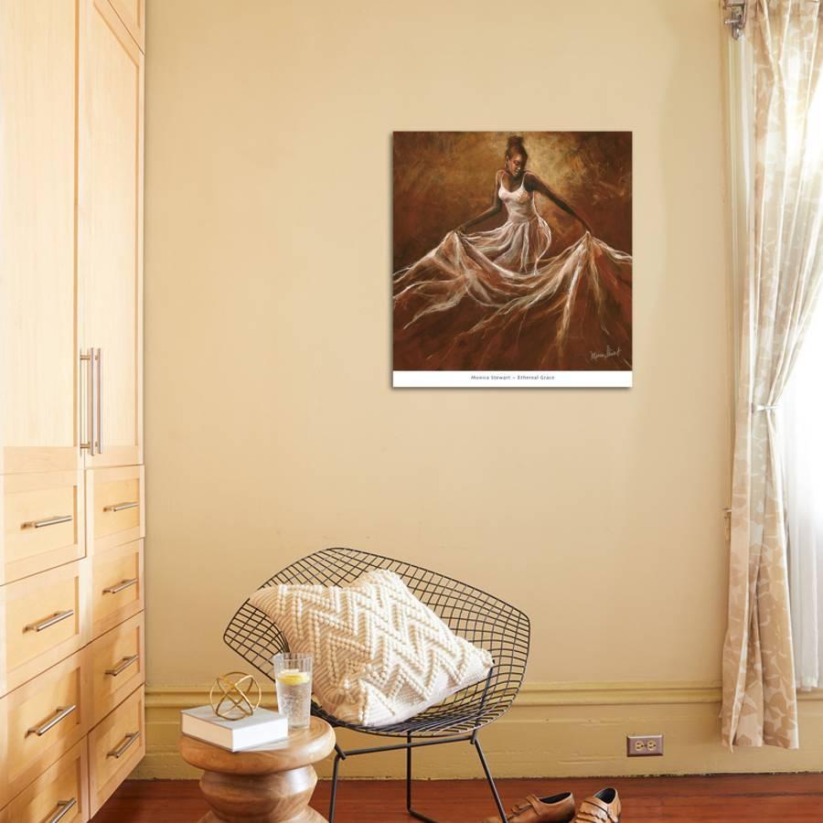 Ethereal Grace Art Print by Monica Stewart | the NEW Art.com