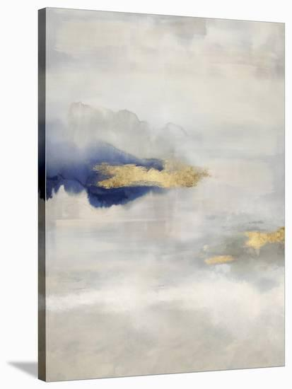 Ethereal with Blue V-Rachel Springer-Stretched Canvas Print
