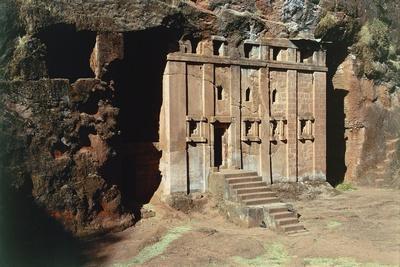 Ethiopia, Lalibela, Rock-Hewn Churches, Abba Libanos Church--Giclee Print