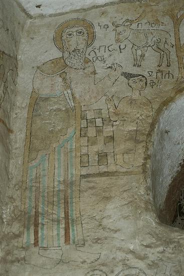 Ethiopia, Lalibela, Rock-Hewn Churches, Gannata Maryam Church--Giclee Print