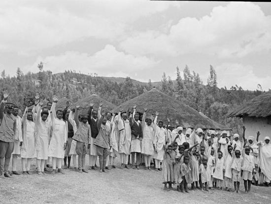 Ethiopia-Alfred Eisenstaedt-Photographic Print