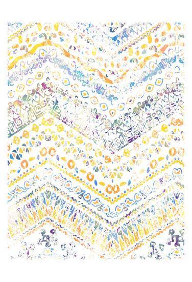 Ethnic Watercolor-Kimberly Allen-Art Print