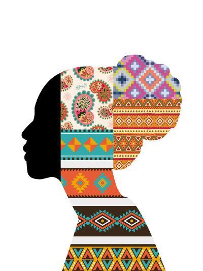 Ethnic Woman--Art Print