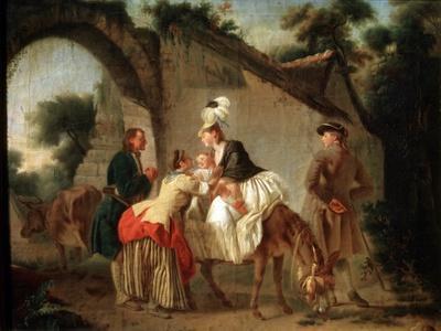 Farewell to the Wet Nurse, 1777