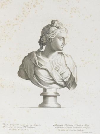Tableau du Cabinet du Roi, statues et bustes antiques des Maisons Royales Tome II : planche 1