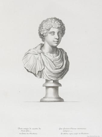 Tableau du Cabinet du Roi, statues et bustes antiques des Maisons Royales Tome II : planche 20