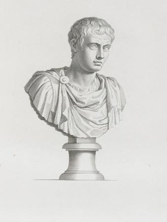 Tableau du Cabinet du Roi, statues et bustes antiques des Maisons Royales Tome II : planche 21