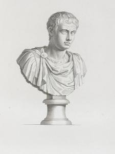 Tableau du Cabinet du Roi, statues et bustes antiques des Maisons Royales Tome II : planche 21 by Etienne Baudet