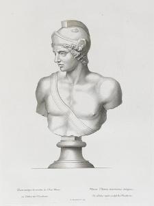 Tableau du Cabinet du Roi, statues et bustes antiques des Maisons Royales Tome II : planche 29 by Etienne Baudet