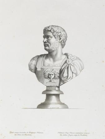 Tableau du Cabinet du Roi, statues et bustes antiques des Maisons Royales Tome II : planche 2