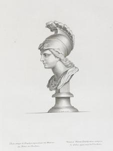 Tableau du Cabinet du Roi, statues et bustes antiques des Maisons Royales Tome II : planche 30 by Etienne Baudet