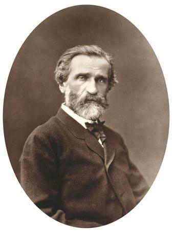 """Guiseppe Verdi from """"Galerie Contemporaine,"""" 1877"""