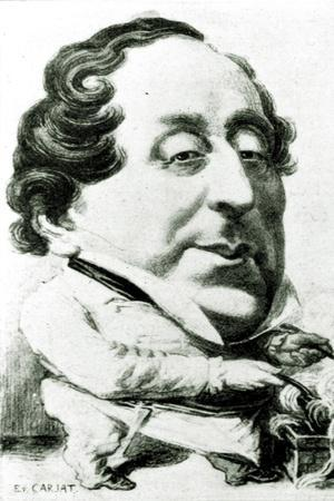 Rossini cuisinant (making