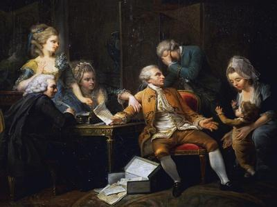 Broken Contract, Painting by Jeaurat Etienne (1699-1789), France, 18th Century