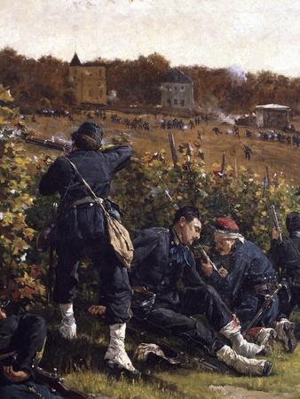 Battle of Malmaison, October 21, 1870, 1875