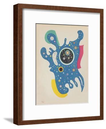 Etoiles-Wassily Kandinsky-Framed Premium Edition
