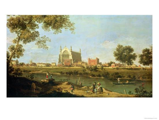 Eton College, c.1754-Canaletto-Giclee Print