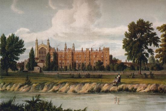 Eton College from the River, 1911, (1914)-Unknown-Giclee Print