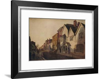 Eton High Street, c19th century, (1924)-Peter de Wint-Framed Giclee Print