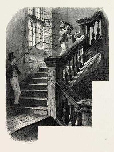 Eton, Staircase to the Upper School, UK--Giclee Print