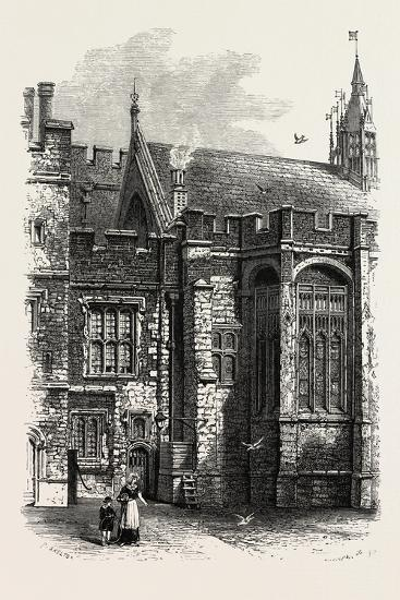 Eton, the College Hall, UK--Giclee Print