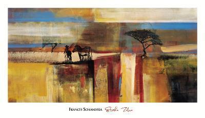 Etosha Zebra-Frances Schandera-Art Print