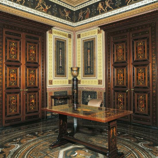 Etruscan Cabinet with Works-Pelagio Palagi-Giclee Print